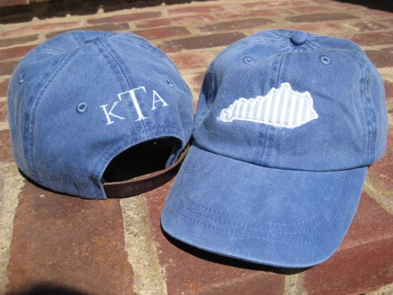 0497c423729 State Cap Applique and Monogram by SaddleStitches on Etsy