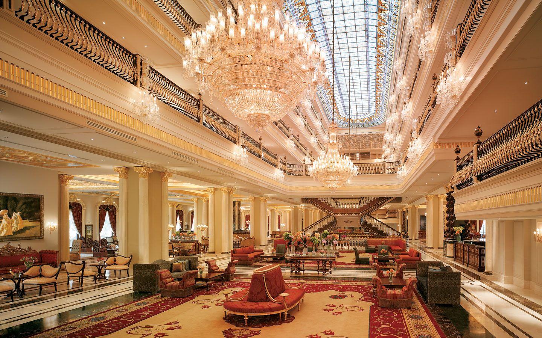 Main Lobby Mardan Palace Hotel Turkey Luxury Hotels Interior Hotel Interior Design Hotel Design