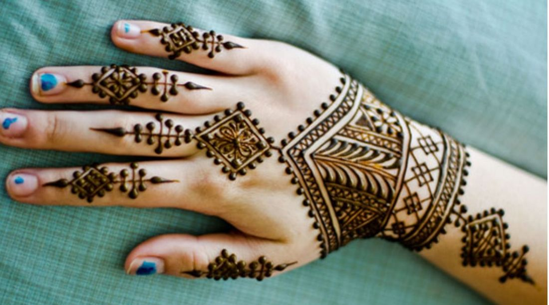 beautiful and easy mehndi designs crayon also greens rh pinterest