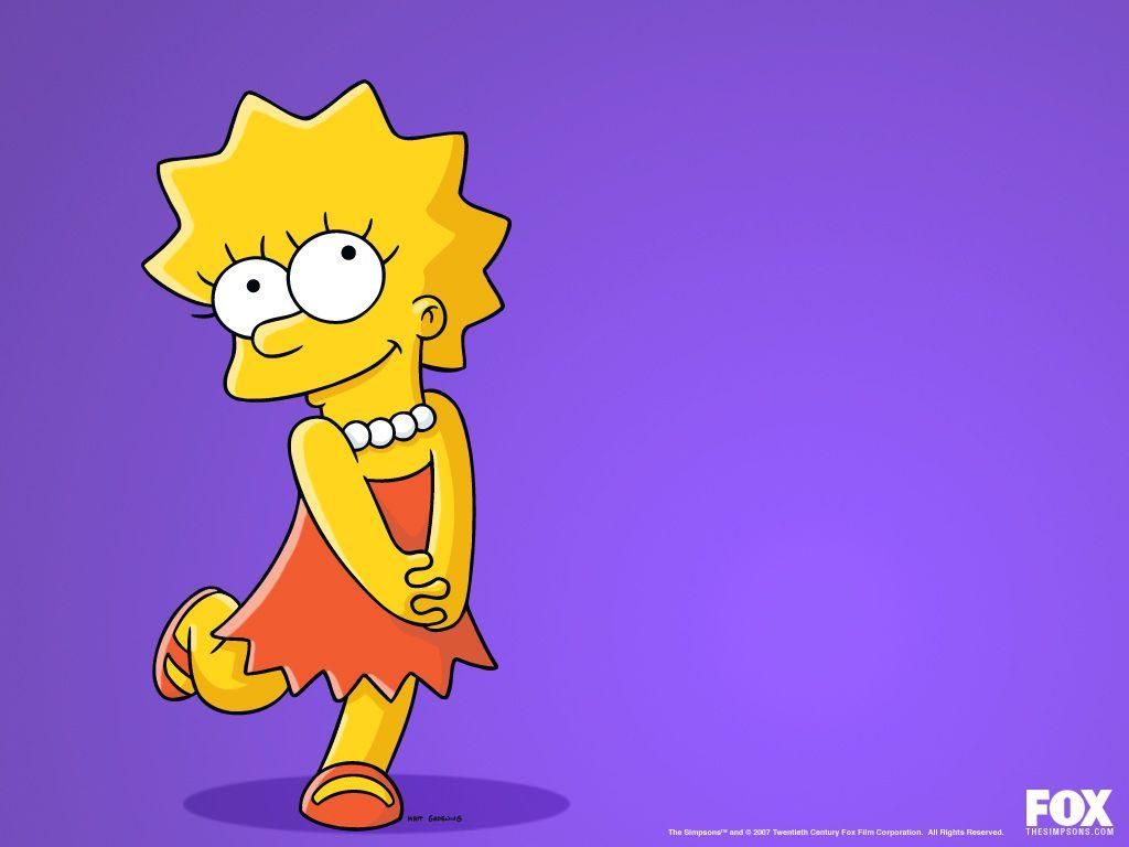 Lisa Simpson SIMPSONS WALLPAPERS Pinterest Wallpaper