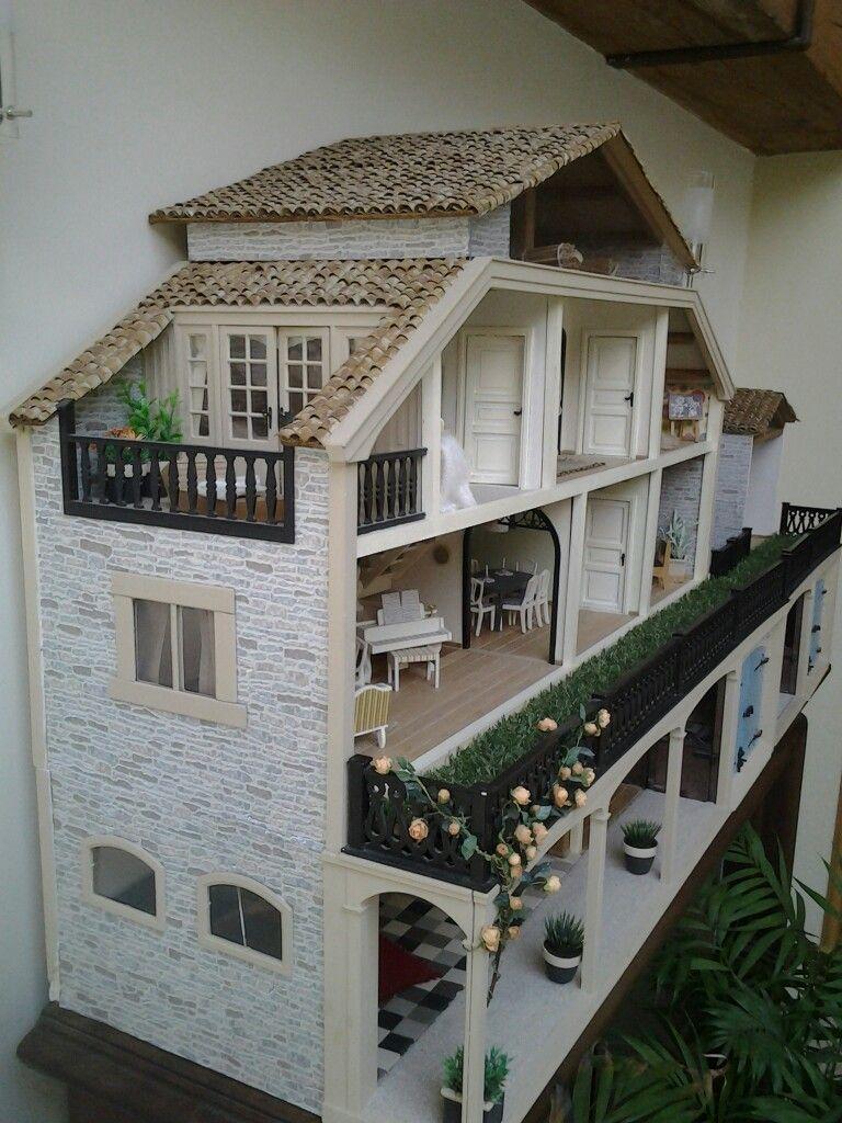 lundby miniature dollshouse renovation nearly finished miniatures doll furniture barbie. Black Bedroom Furniture Sets. Home Design Ideas