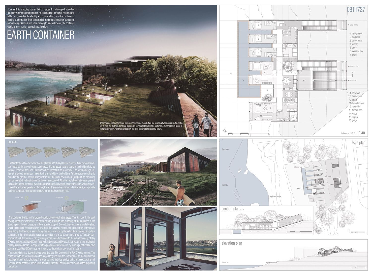 Results of the sydney container vacation house competition for Small house design contest winners