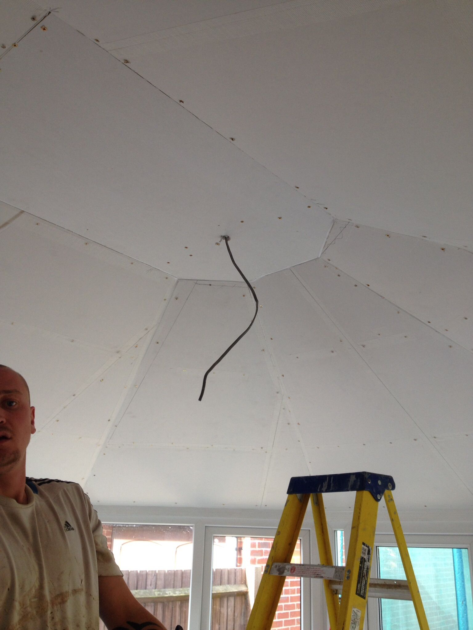 Conservatory Ceiling Modification By A & J Builders