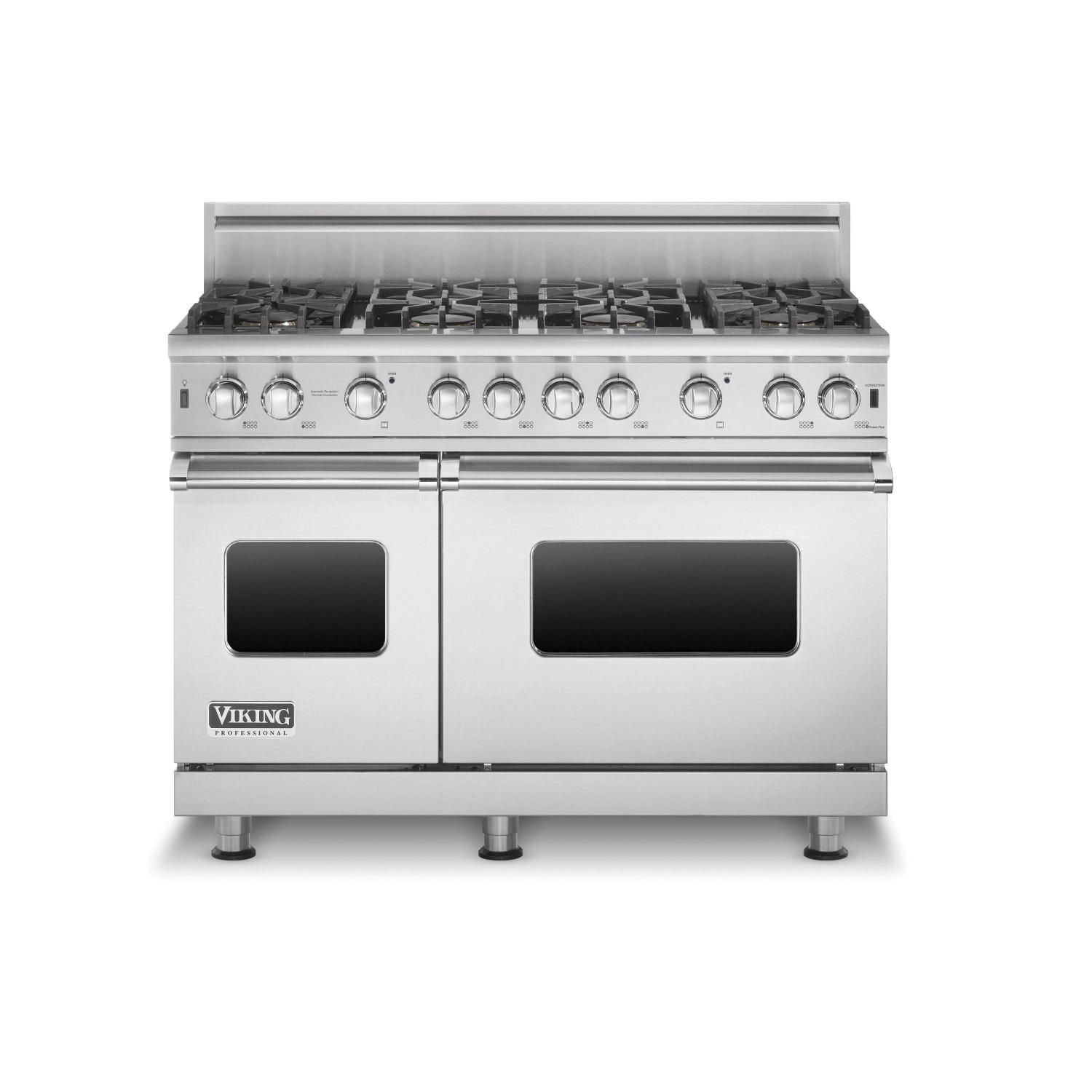 Viking Professional 5 Series 48 Inch 8 Burner Natural Gas Range Stainless Steel Vgr5488bss With Images Viking Range Dream Kitchens Design Kitchen Design