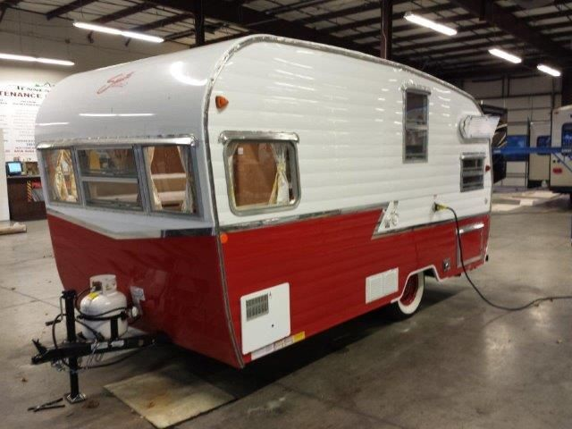2015 Shasta Retro 1961 Airflyte Reissue Rvs For Sale In Knoxville