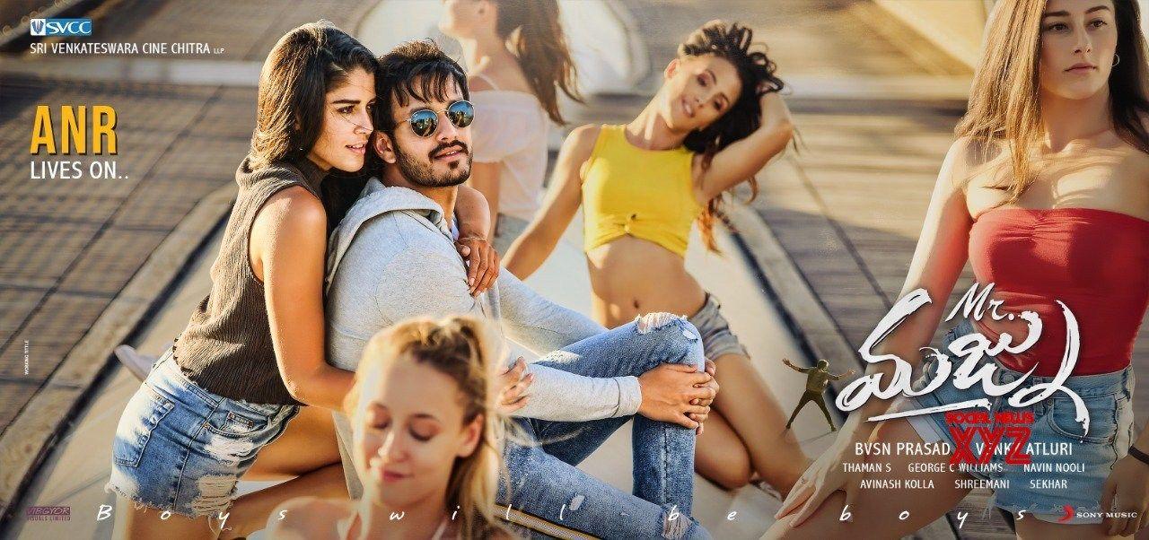 Akhil akkinenis mr majnu movie first look poster