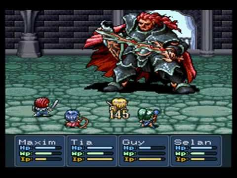Lufia II: Rise of the Sinistrals (SNES)  Found this RPG at