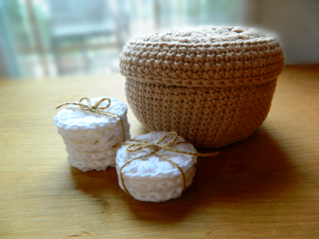 27 Crochet box and face scrubbie | Crochet box, Crochet and Box