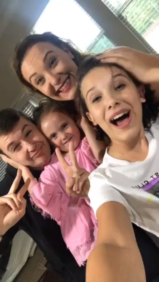 Millie Bobby Brown And Her Siblings Bobby Brown Millie Bobby Brown Bobby Brown Stranger Things