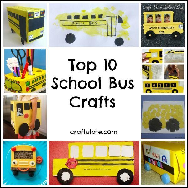 Top 10 School Bus Crafts