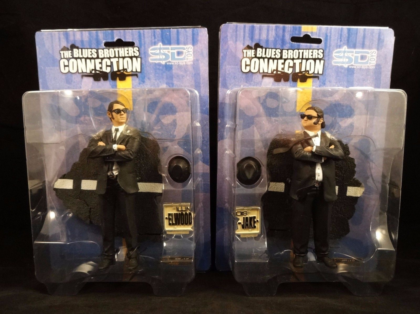 Toys For Brothers : Blues brothers jake elwood quot connection action figures sd