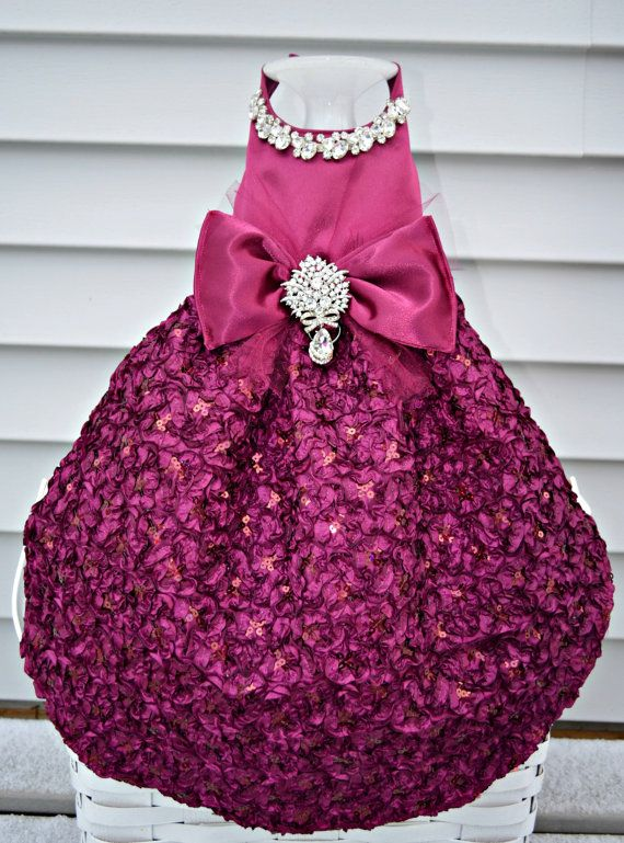 Glamour Girl Dog Harness Dress Bling Upgrade By Kocouture