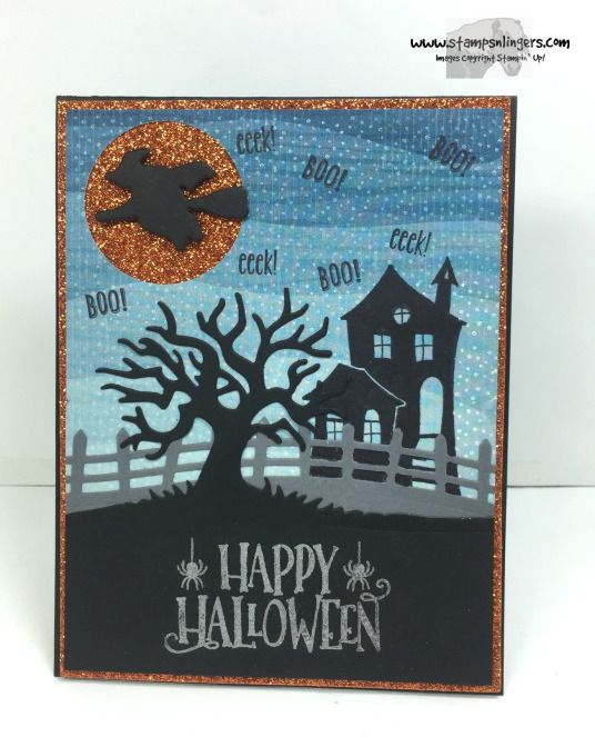Spooky Fun Halloween Treat 1 - Stamps-N-Lingers SU 2016 Holiday - halloween catalog