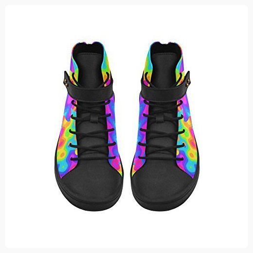 Story Rainbow Shoes Toe D Womens Acid Round Top Amazing High R1qXxxdw8g