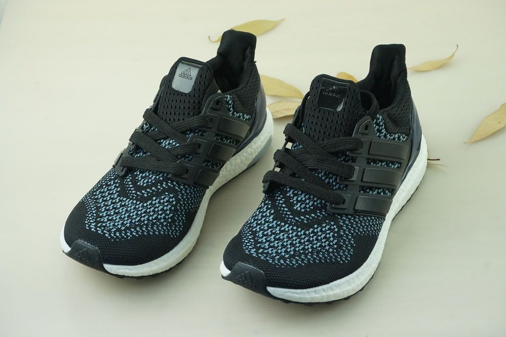 edea852fc Adidas Size 9.5 Ultra Boost 1.0 Core Black Purple Running Shoes