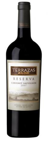Terrazas Reserva Cabernet Sauvignon 2007 En Winesur Com Malbec Vino Tinto Vinos