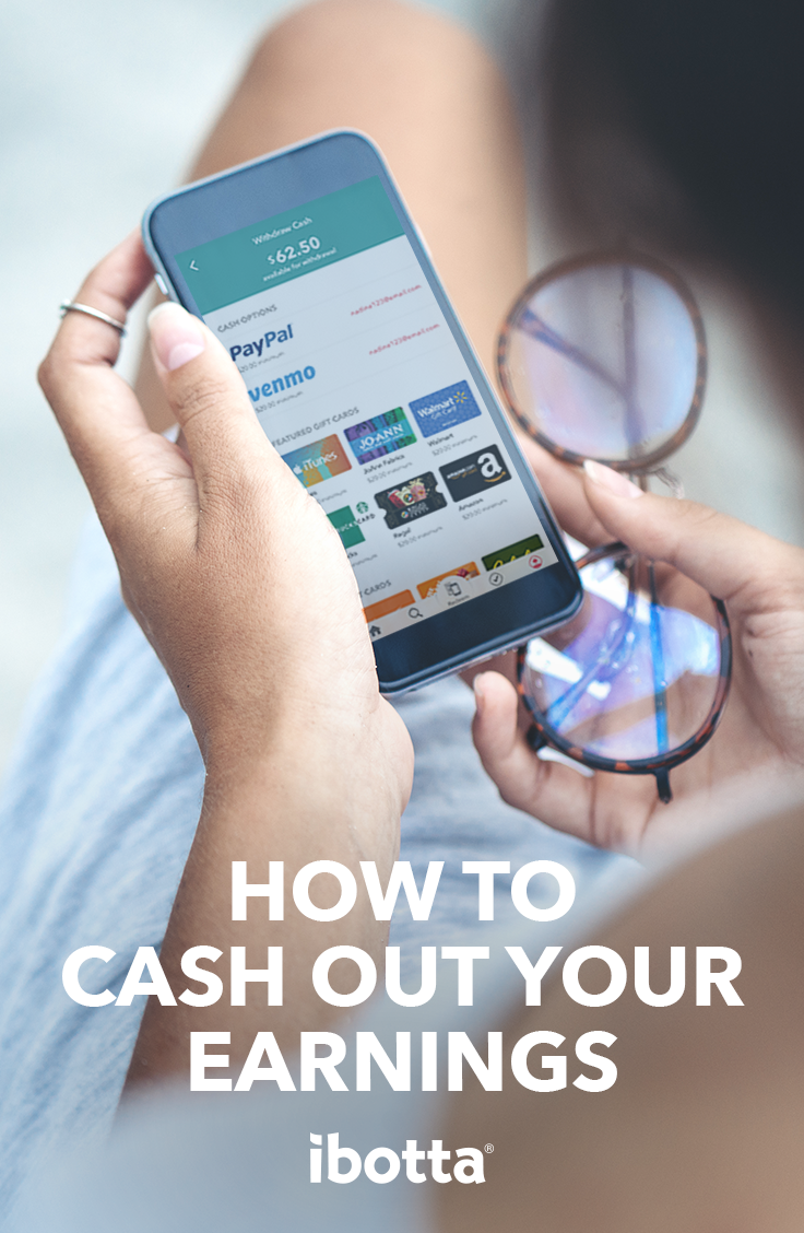 Ready to cash out your Ibotta earnings? Transfer your
