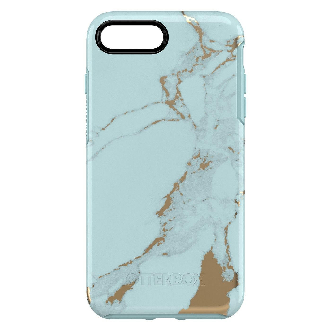 check out 9786a 4242c OtterBox Apple iPhone 8 Plus/7 Plus Symmetry Case - Teal Marble in ...
