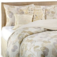 eb9c6a4734c I would put a light gray quilt over this comforter. Oxidized Leaf 4-Piece Comforter  Set