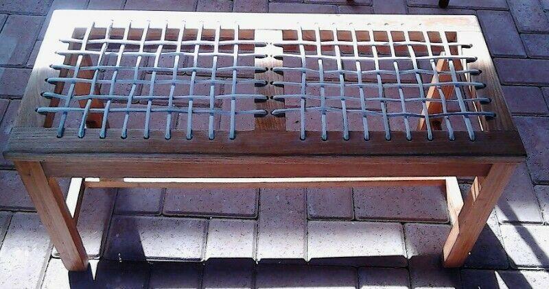 2 seater oak riempie bench  port elizabeth  gumtree