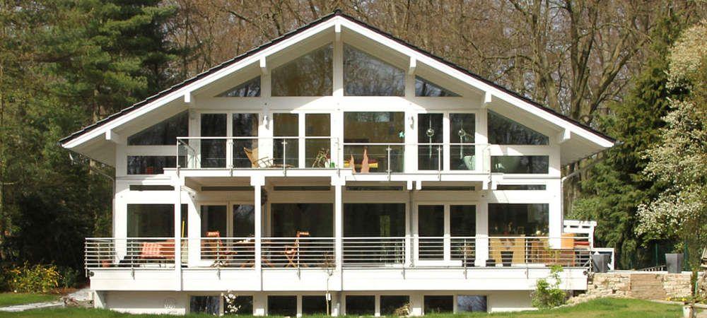 ModernesFachwerkhausHolzskelettbauweise Fachwerkhäuser