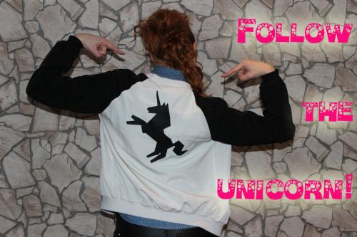Unicorn Jacket Upcycling