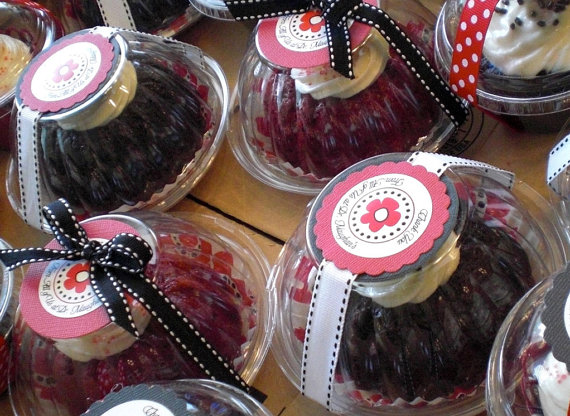 Your Place To Buy And Sell All Things Handmade Mini Bundt Cakes Mini Bundt Cakes Packaging Cake Favors