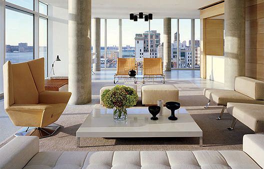Home Inside inside heather millss home in new york: swanky apartment in