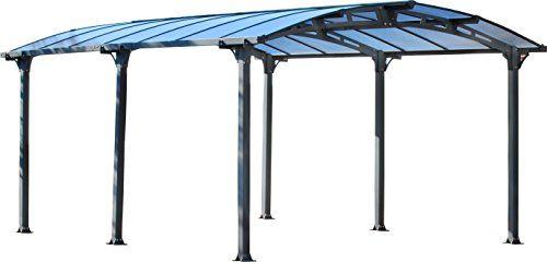 Amazon Com Palram Arcadia 5000 Carport Patio Cover 16 X 12 X 8 Patio Lawn Garden Carport Patio Carport Canopy