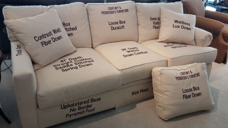 How To Choose The Right Sofa Cushion How To Restuff Couch Pillows