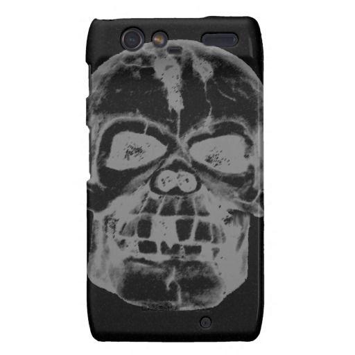 Halloween Skull Motorola Droid RAZR Covers