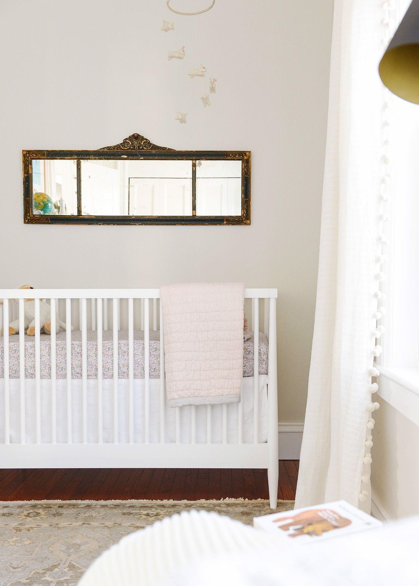 Modsy online design service for a neutral nursery | via Yellow Brick ...