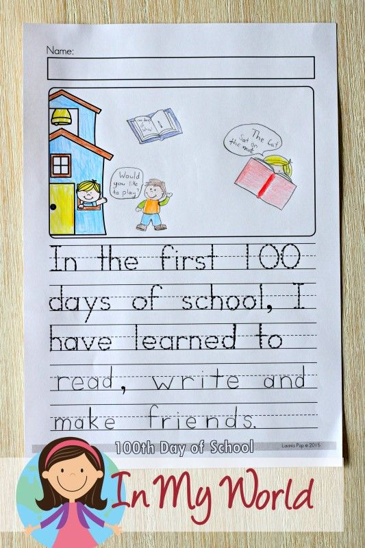 100th Day of School Worksheets and Activities   Anchor charts     100th Day of School Worksheets and Activities   Anchor charts   Pinterest   School  worksheets  Worksheets and Writing prompts