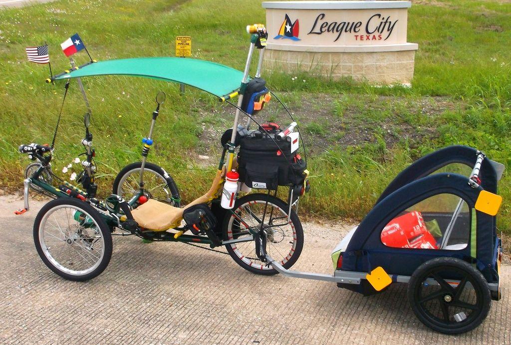 Trike Trailer Commuter Bicycle Trike Bicycle Trike