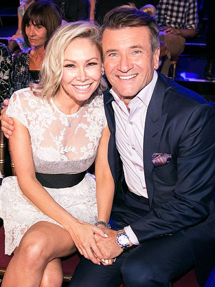 Robert Herjavec Kym Johnson Finally Address Dating Talk on DWTS