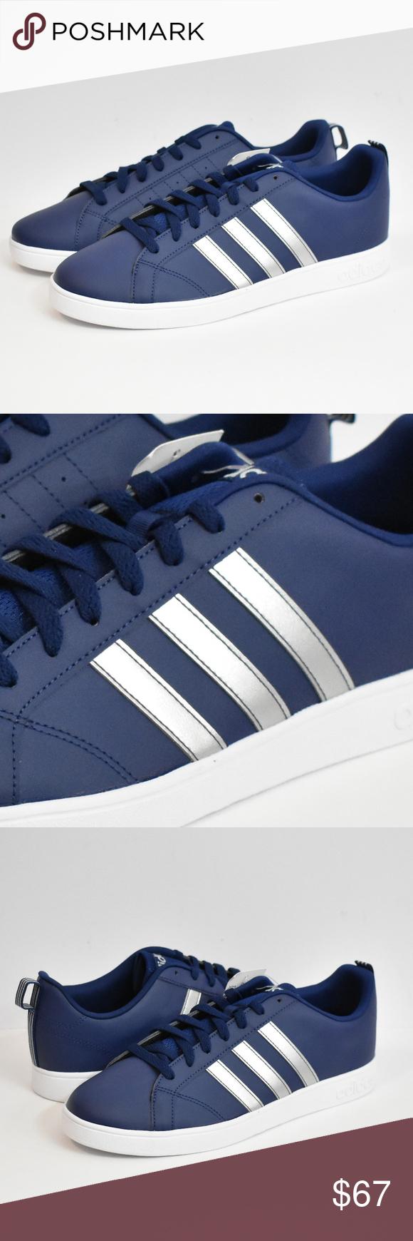 NEW Adidas NEO Vs Advantage F34432 Blue Men's 12 | Adidas neo ...