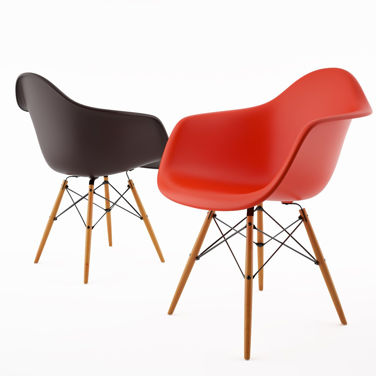 Eames Chair Autocad Block Pin By Dimensiva On 3d Models Furniture Eames