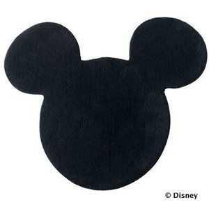 disney mickey mouse shaped bath rug i have this already in the half bath - Mickey Mouse Bathroom Accessories Target