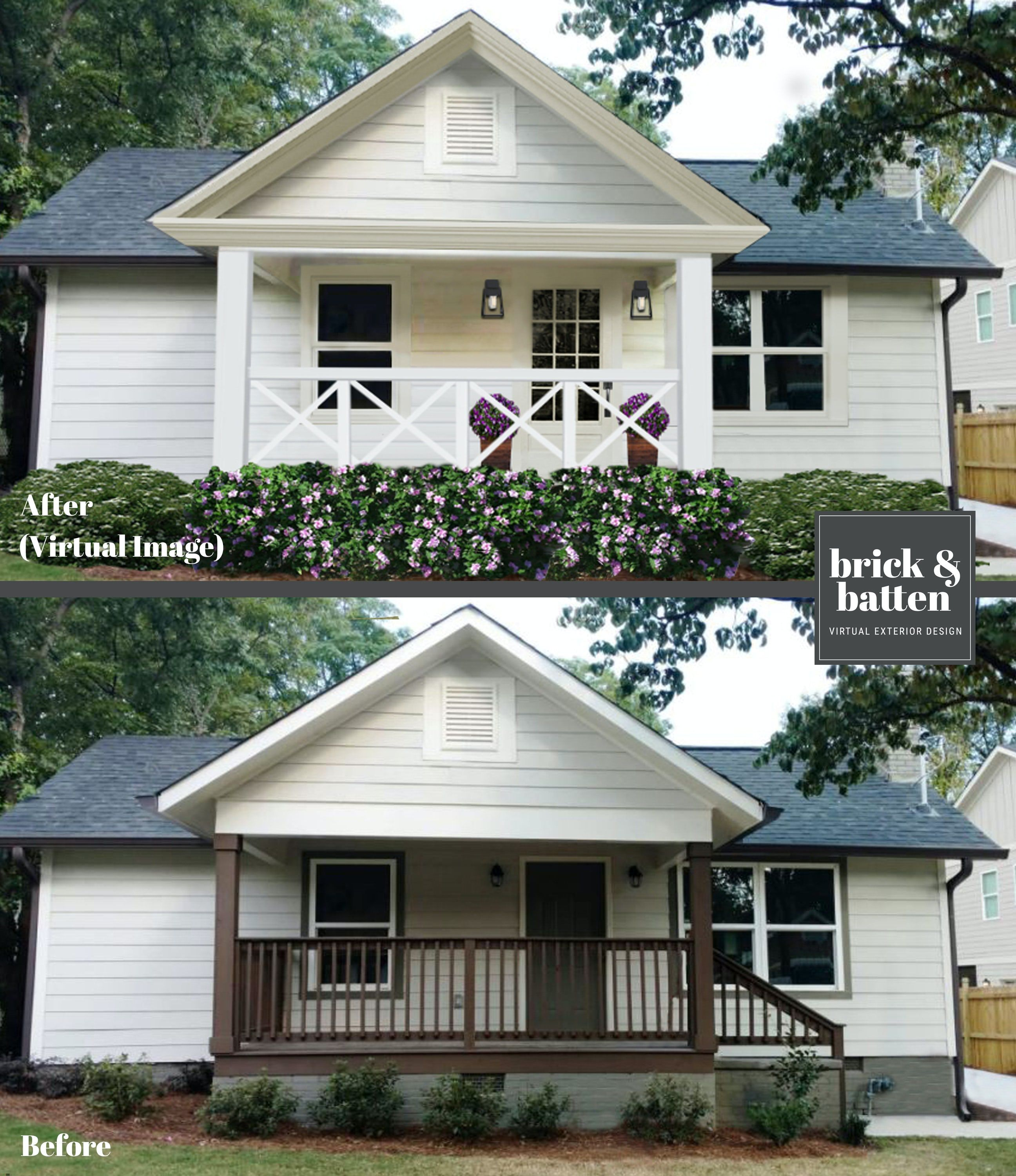 How much does a home exterior makeover cost brick