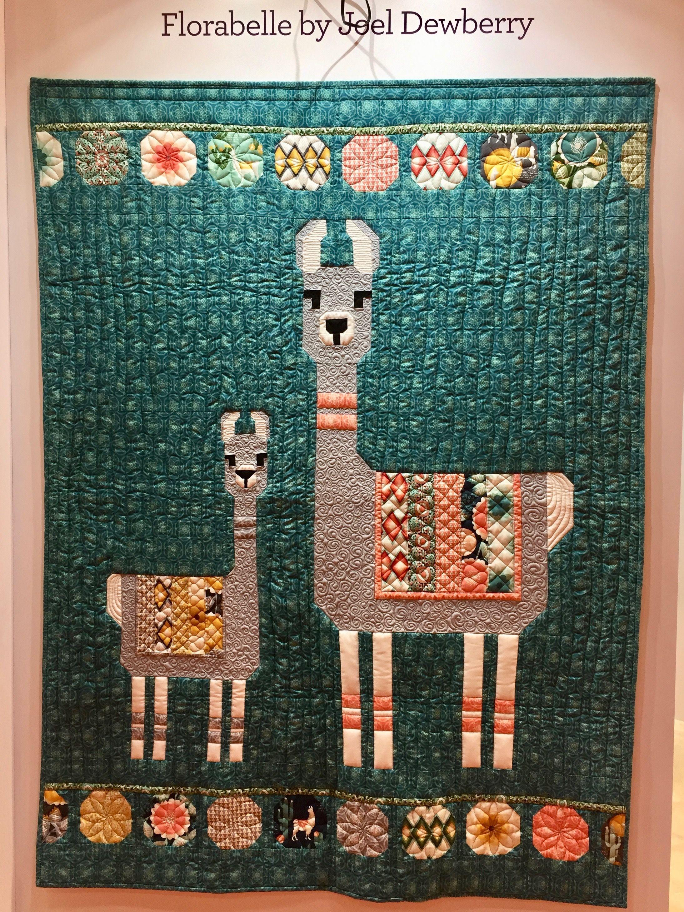 Llama Quilt Florabelle By Joel Dewberry Spring Market