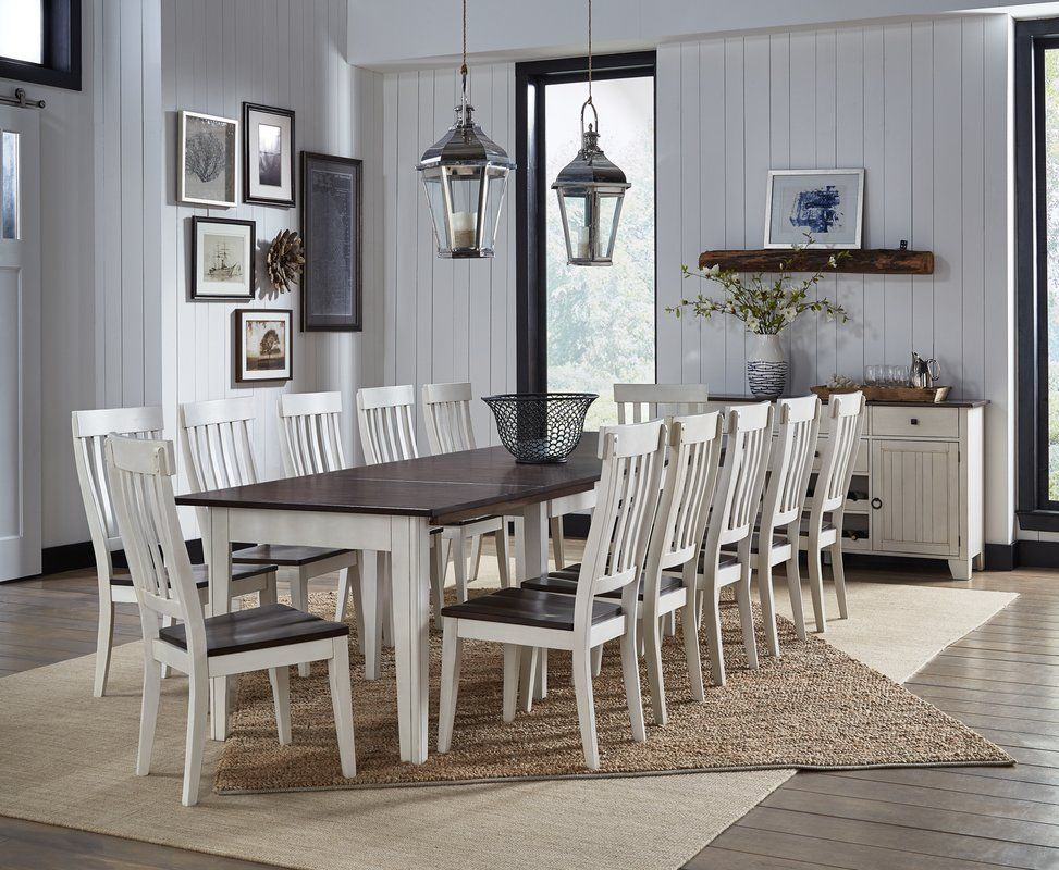 Tamiami Extendable Solid Wood Dining Table Dining Table