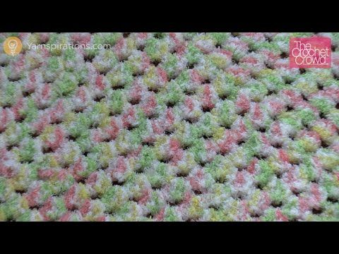 Learn how to make a quick and easy Bernat Pipsqueak Baby Blanket ...