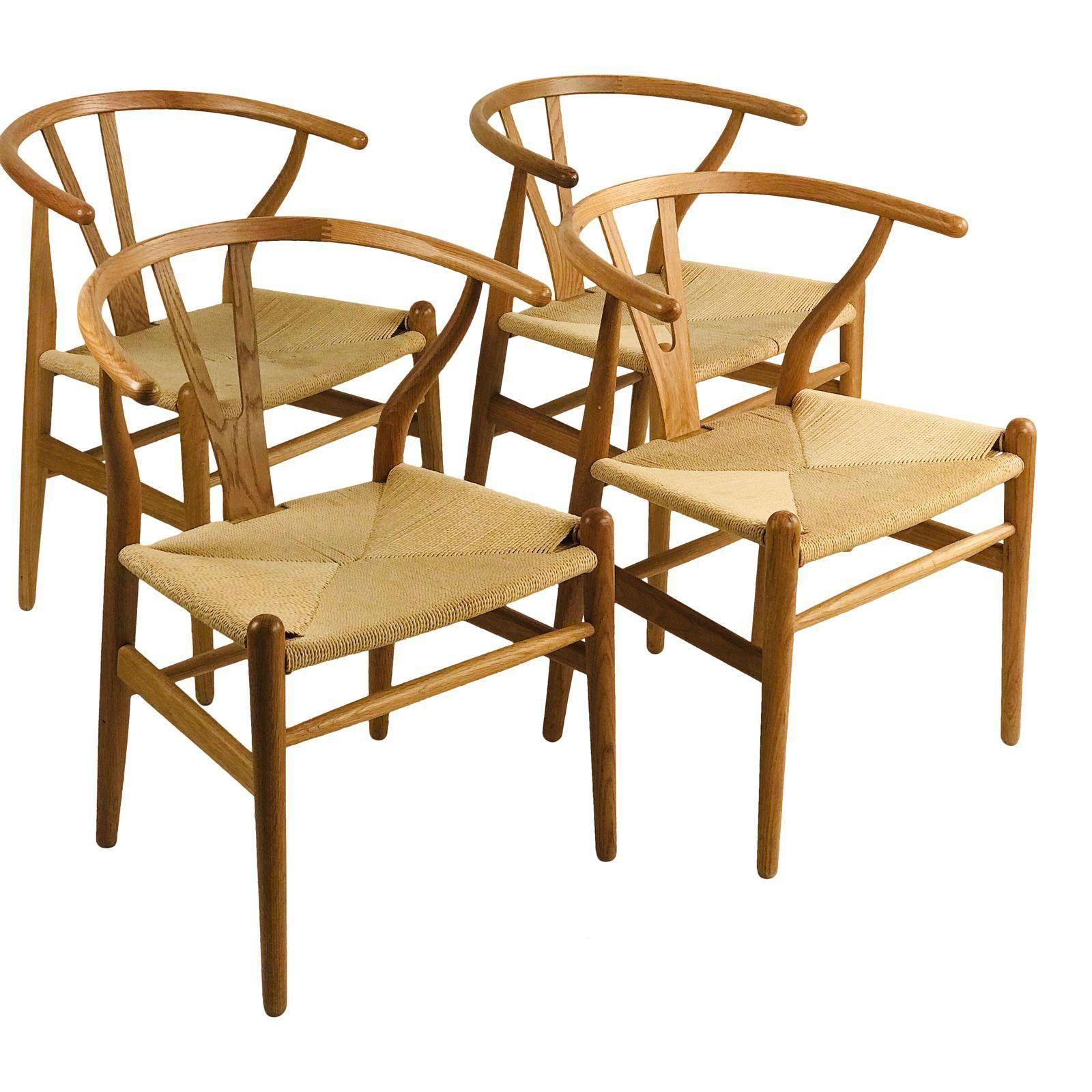 Wegner Wishbone Chairs Set of 4 Image 1 of 6 Chair