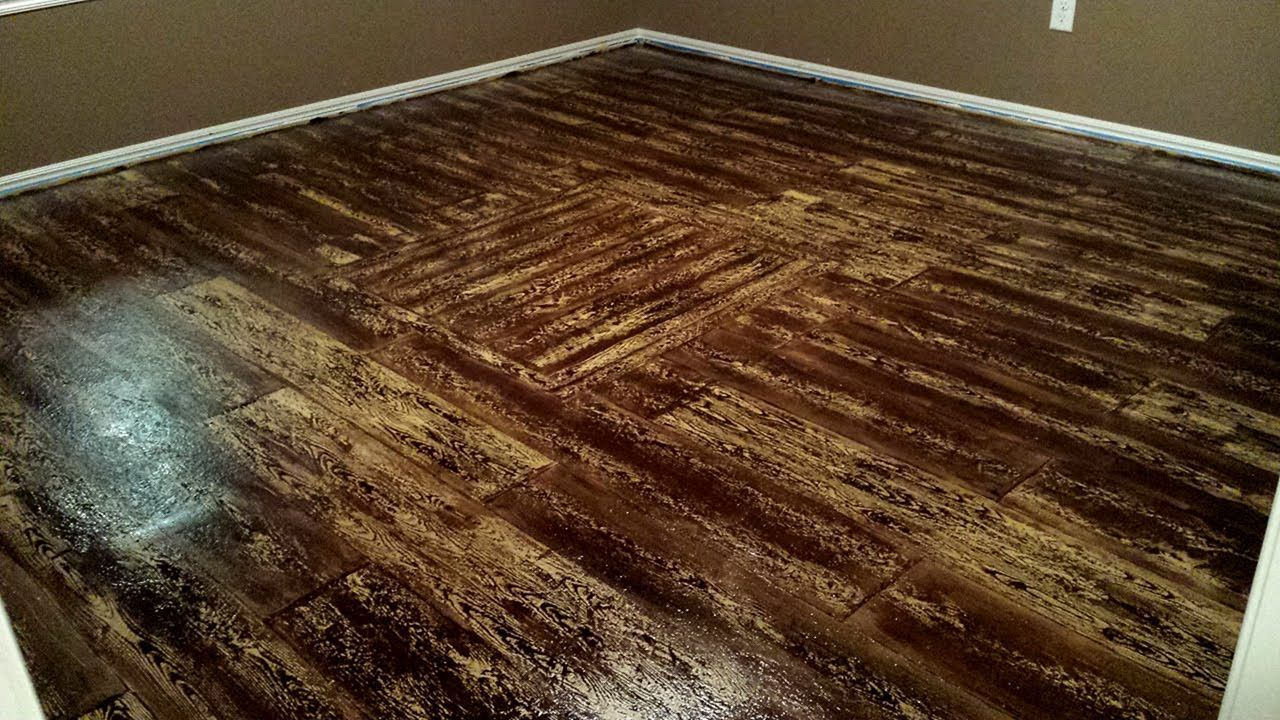 25 Gorgeous Burnt Wood Floors Design Idea For Amazing Home Freshouz Com Painted Plywood Floors Porch Wood Plywood Flooring