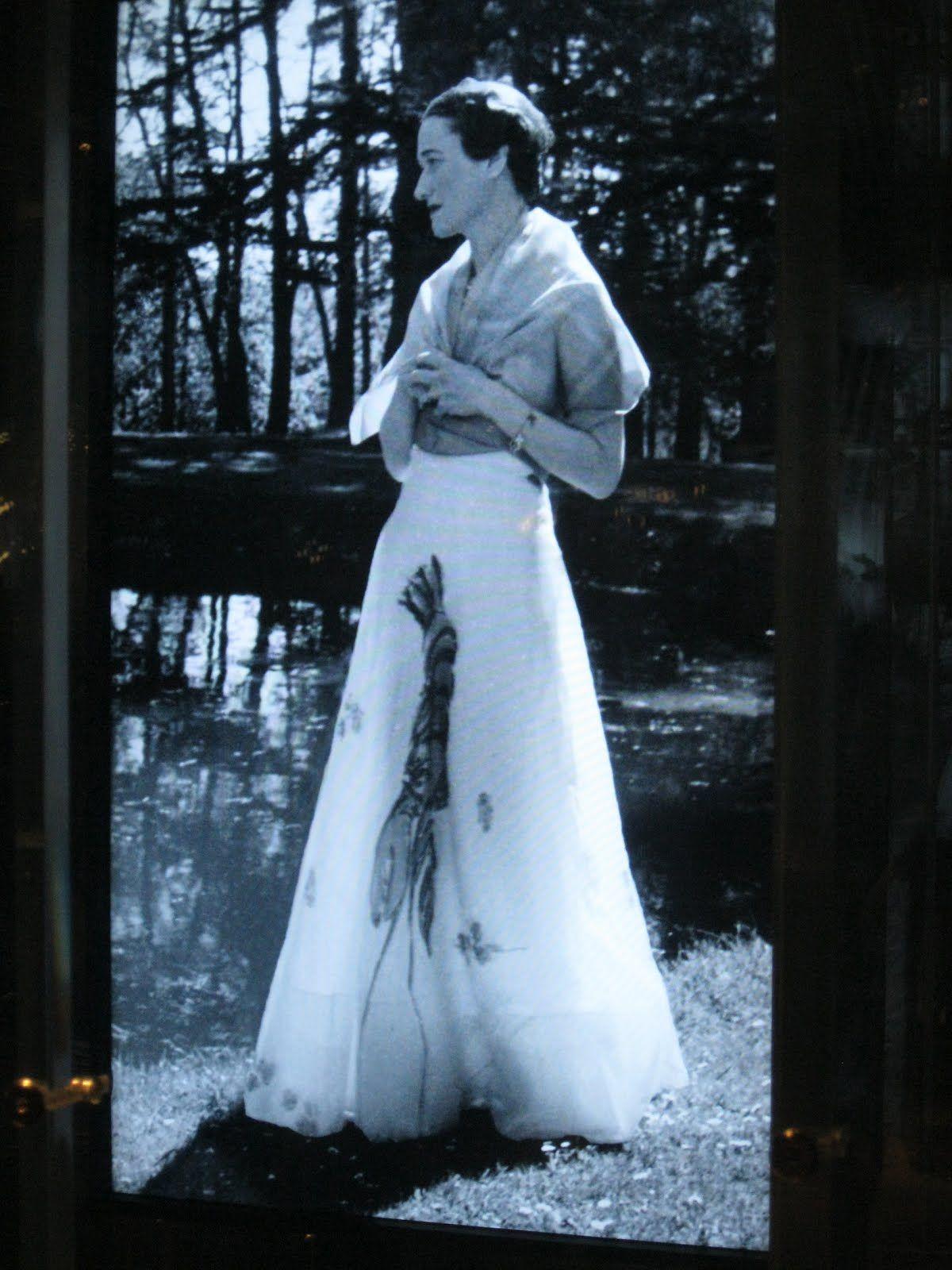 Wallis simpson wedding dress  Wallis days before she married Edward in  in Scu  u stuff of
