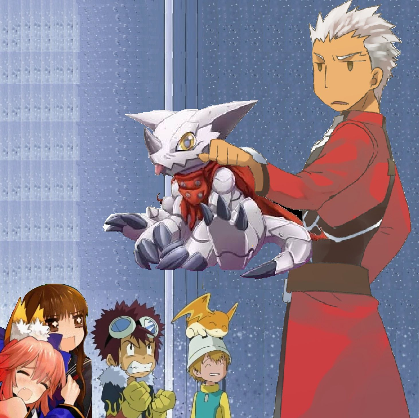 Here Come A New Ally Fate Stay Night Crossover Anime Crossover Digimon The last airbender, avengers, chronicles of narnia, daredevil, fate/stay night, fate/zero, fate/apocrypha, fate/grand order, flash, free, harry potter, jessica jones, legacies, maze runner. fate stay night crossover