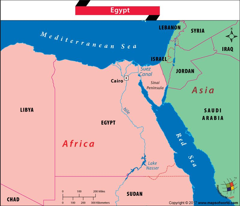 Is Egypt In Africa Or Asia Egypt Asia Africa