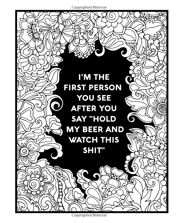 Amazon.com: Nurse Coloring Book: Sweary Midnight Edition - A Totally ...