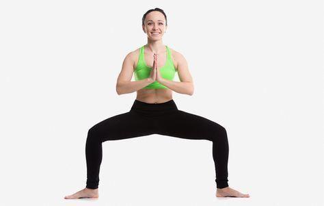 how to open your chakras  goddess pose or deviasana