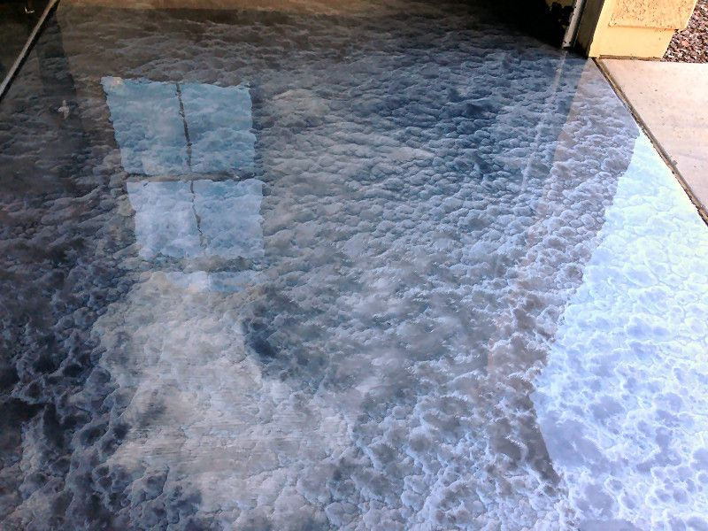 pearl epoxy floor metallic epoxy flooring jobs house ideas pinterest wohnen. Black Bedroom Furniture Sets. Home Design Ideas